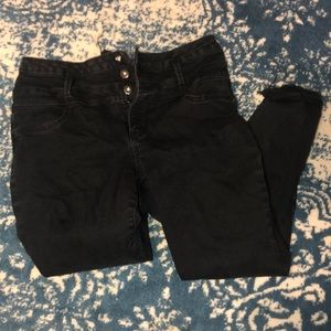 💋Flirty Black Skinny Jeans